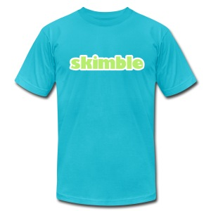 Skimble Men's Logo Tee - Men's T-Shirt by American Apparel