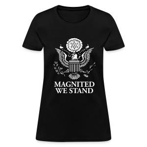 Magnited We Stand - Black Womens - Women's T-Shirt