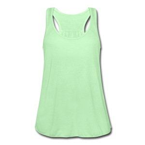 Hearts duo Women's T-Shirts - Women's Flowy Tank Top by Bella