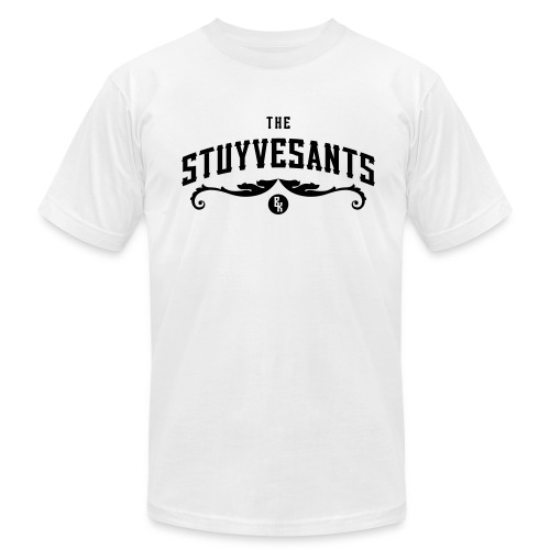 "Mens ""The Stuyvesants"" Logo Tee White - Men's T-Shirt by American Apparel"