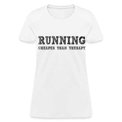Running Therapy Women's T-Shirt - Women's T-Shirt
