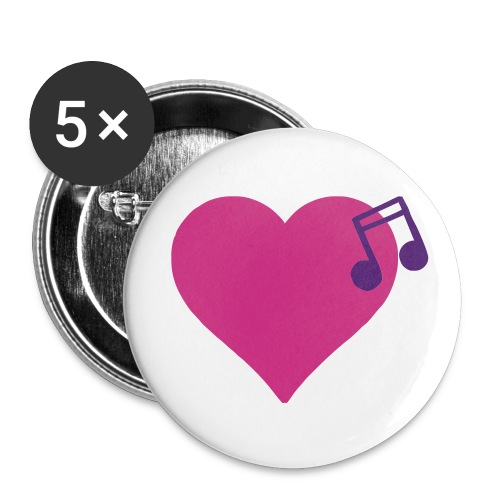 love & music - Small Buttons