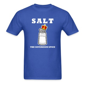 Salt: The Sovereign Spice Men's Standard Weight Tee - Men's T-Shirt
