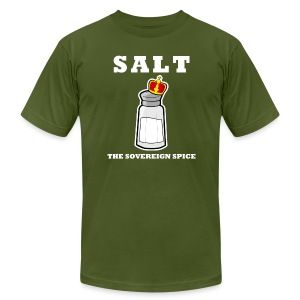 Salt: The Sovereign Spice Men's Americna Apparel Tee - Men's T-Shirt by American Apparel