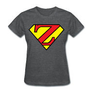 T-Shirts ~ Women's T-Shirt ~ Super Z (w/# on back).