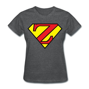 Super Z (w/# on back). - Women's T-Shirt