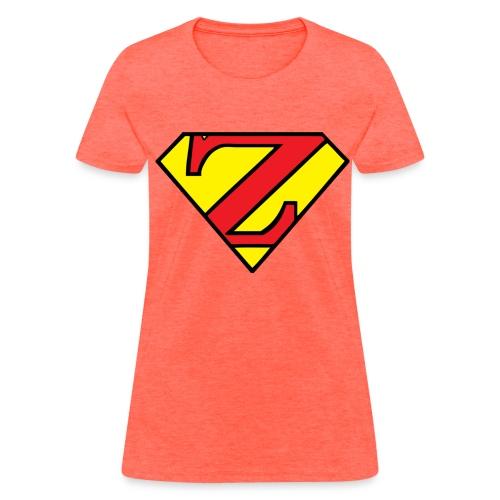 Super Z (w/# on back). - Women's T-Shirt