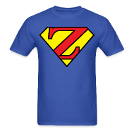 T-Shirts ~ Men's T-Shirt ~ Super Z (w/# on back)