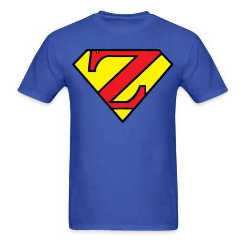 Super Z (w/# on back) - Men's T-Shirt