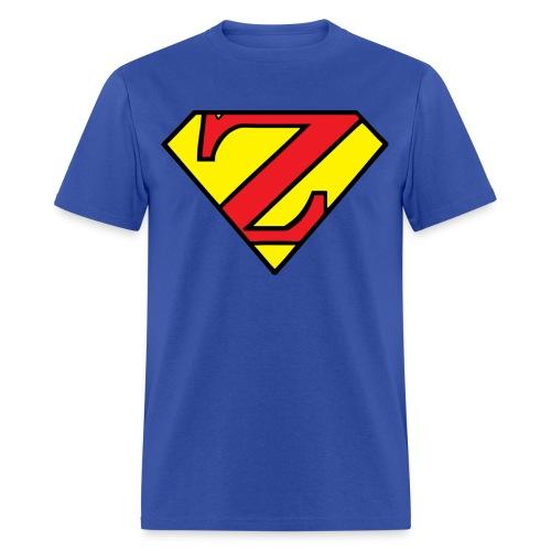 Super Z (w/# on back) - Men's T-Shirt