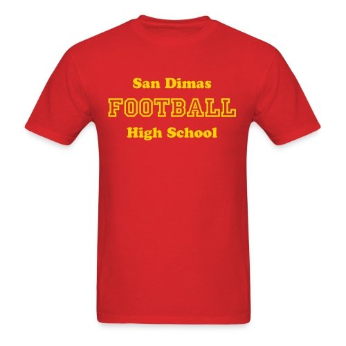 San Dimas High School Football - Men's T-Shirt