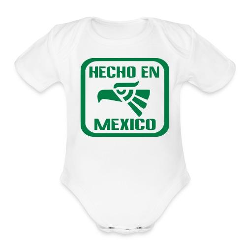 Baby Mexico - Organic Short Sleeve Baby Bodysuit