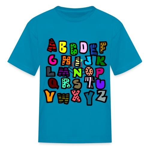 brainy baby  - Kids' T-Shirt