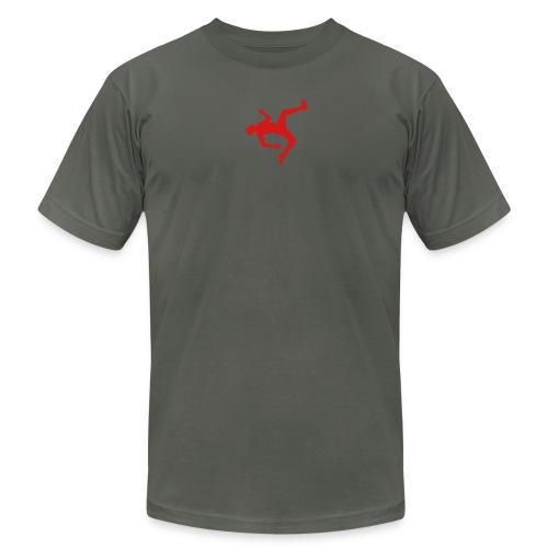 Premium QWOP Silhouette T-shirt - Men's Fine Jersey T-Shirt