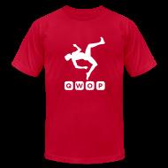 T-Shirts ~ Men's T-Shirt by American Apparel ~ Premium QWOP Logo T-shirt