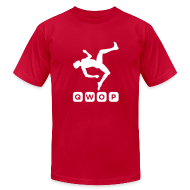 T-Shirts ~ Men's T-Shirt by American Apparel ~ Premium QWOP Logo T-shirt