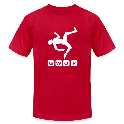 Premium QWOP Logo T-shirt - Men's  Jersey T-Shirt