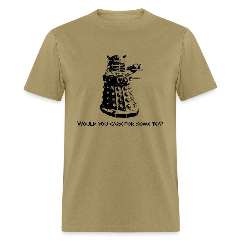 Doctor Who--Tea Dalek - Men's T-Shirt