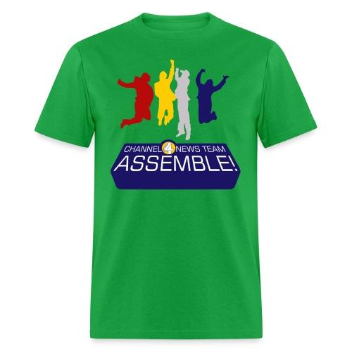 News team assemble anchorman t shirt - Men's T-Shirt