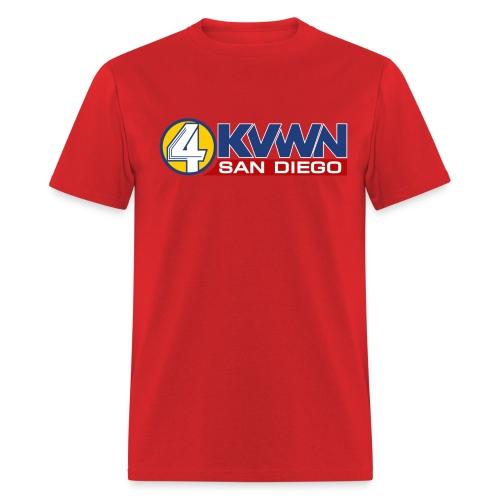 KVWN news team tshirt - Men's T-Shirt