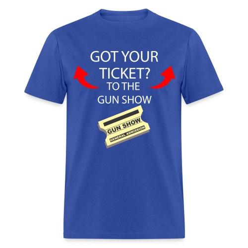 2 tickets anchoman t-shirt - Men's T-Shirt