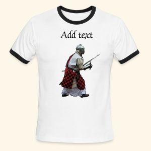 Medieval knight martial arts - Men's Ringer T-Shirt