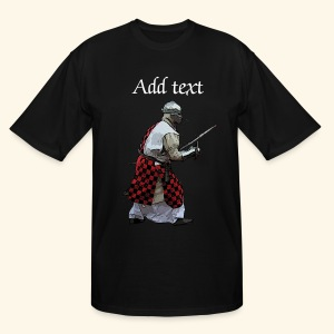 Medieval knight martial arts - Men's Tall T-Shirt