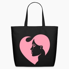 A Woman's Heart Pink Tote