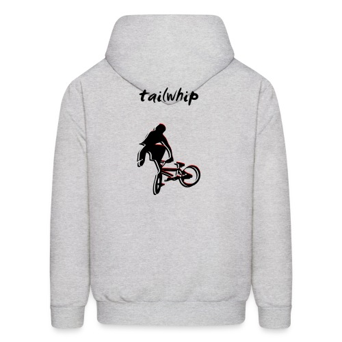 BMX Hoodie - Tailwhip Trick - Men's Hoodie