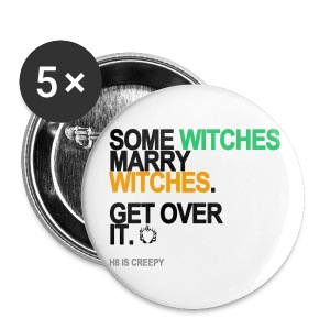 Some Witches Marry Witches Button - Small Buttons