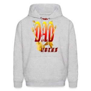 This DAD Rocks! - Men's Hoodie