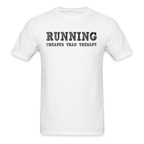 Running Therapy Men's T-Shirt - Men's T-Shirt