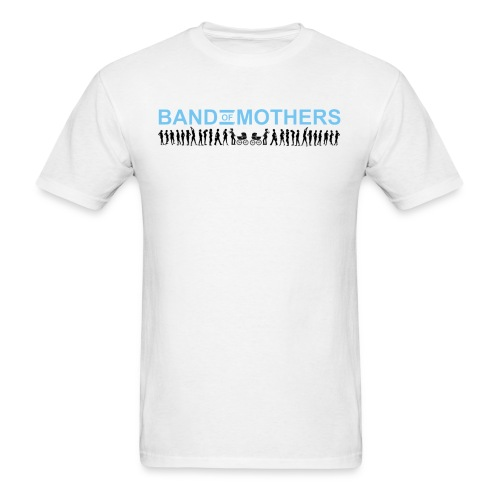 Band of Mothers blu - Men's T-Shirt