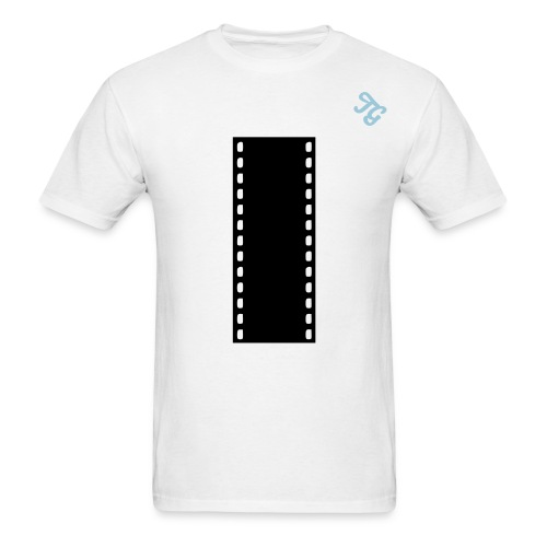 TG Photography Film Strip T-Shirt - Men's T-Shirt