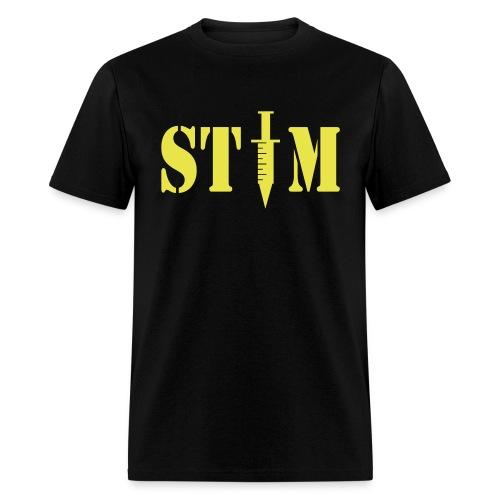 STIM - Men's Black T - Men's T-Shirt