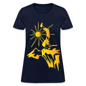 Hiking - Climbing 1 Orange - Yellow - Women's T-Shirt