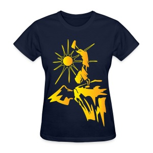 Hiking - Climbing 1 Orange - Yellow - Women's T-Shirt