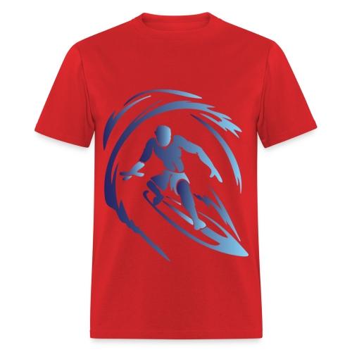 Surfing 1 Blue - Men's T-Shirt