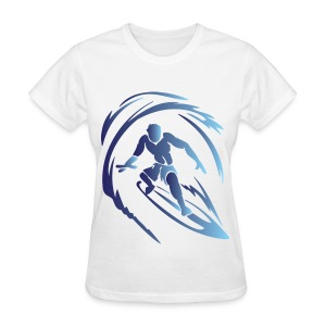 Surfing 1 Blue - Women's T-Shirt