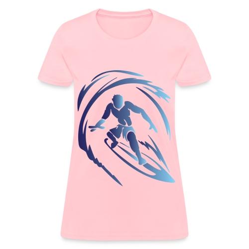 Surfing 1 Blue - Women's T-Shirt