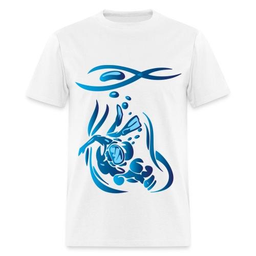 Scuba Divier 1 Blue - Men's T-Shirt