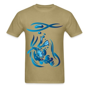 Scuba Divier 1 Blue - Men's T-Shirt