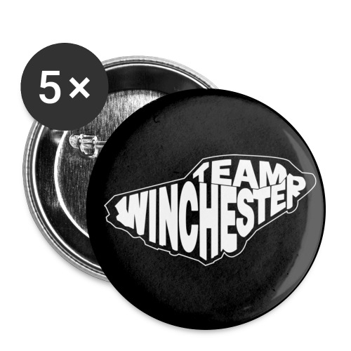 Team Winchester (black) - Large Buttons