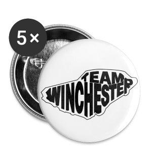 Team Winchester (white) - Small Buttons