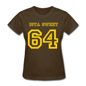 Iota Sweet 64 - Women's T-Shirt