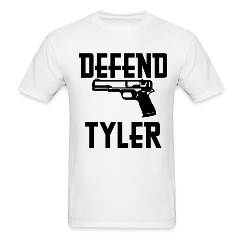 Defend Tyler - Men's T-Shirt