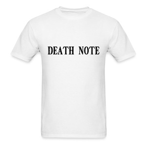 Death Note (Write On Me) (Plus Size) - Men's T-Shirt