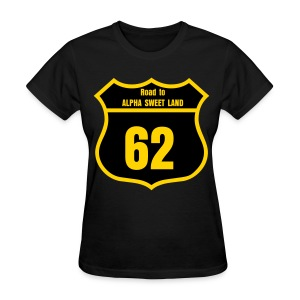 Road 2 Alpha Sweet Land - Women's T-Shirt