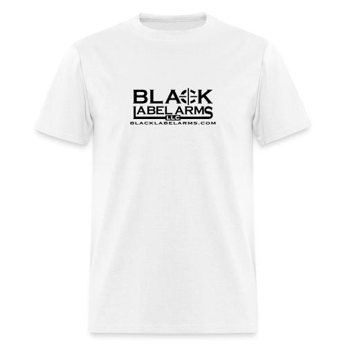 Black Label White T - Men's T-Shirt