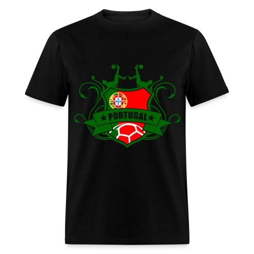 Men's Portugal Soccer Tee - Men's T-Shirt